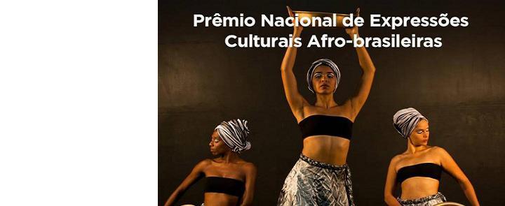 """<h2 class=""""slider-title""""><a><a href=""""/87045-3-edicao-do-premio-nacional-de-expressoes-culturais-afro-brasileiras-promovido-pela-fundacao-cultural-palmares-fcp"""">3ª edição do Prêmio Nacional de Expressões Culturais Afro-brasileiras, promovido pela Fundação Cultural Palmares (FCP)</a></a></h2> <div class=""""slider-text""""> Brasil - Expressões Culturais Afro-brasileiras Estão abertas, até o dia 3 de novembro, as inscrições para a 3...</div>"""