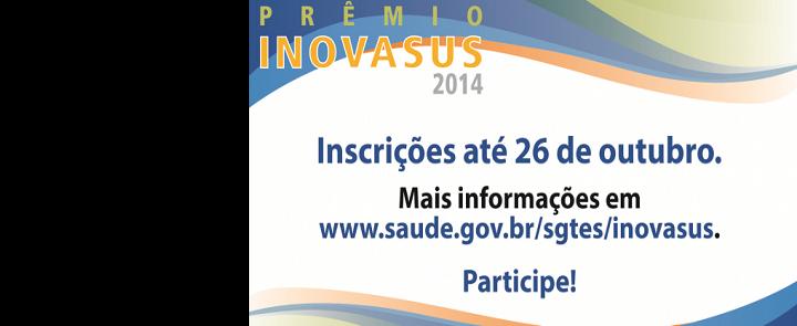 """<h2 class=""""slider-title""""><a><a href=""""/86895-premio-inovasus-inscricoes-abertas"""">Prêmio INOVASUS. Inscrições abertas</a></a></h2> <div class=""""slider-text""""> Pelo quarto ano consecutivo, o Ministério da Saúde – por meio do DEGERTS/SGTES – realiza o concurso Prêmio INOVASUS...</div>"""