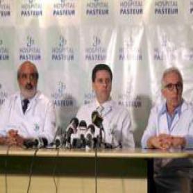 Médicos do HFB e HFSE acompanham recuperação do técnico do Vasco